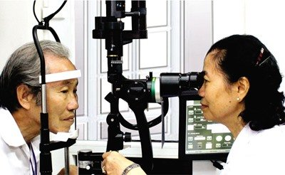 Fundus (eye) department