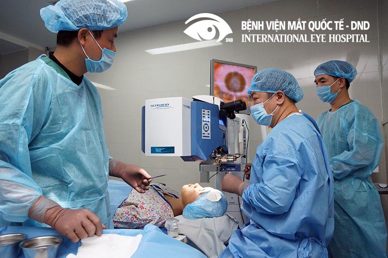 Máy Schwind Amaris 1050RS thực hiện phẫu thuật Smartsurf được trang bị tại Bệnh viện Mắt Quốc Tế - DND