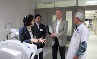 Bệnh viện Mắt Quốc tế DND vinh dự đón chuyên gia quản lý y tế của PUM Hà Lan