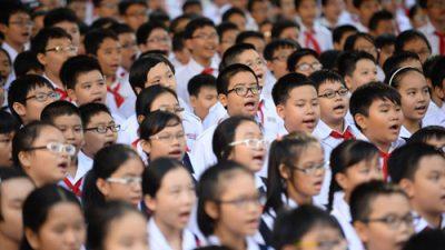 trẻ em Việt Nam mắc tật cận thị rất nhiều