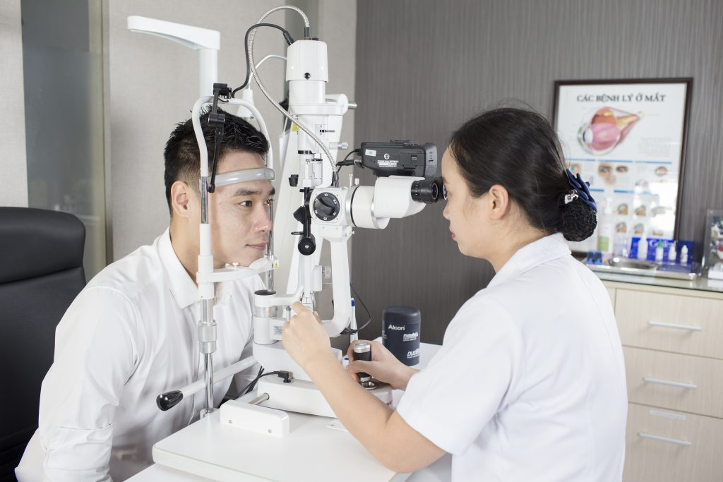 Bác sĩ Đặng Thị Như Quỳnh - Bệnh viện Mắt Quốc tế DND