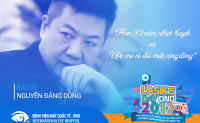 Bác sĩ Nguyễn Đăng Dũng - Giám đốc bệnh viện Mắt Quốc tế DND.