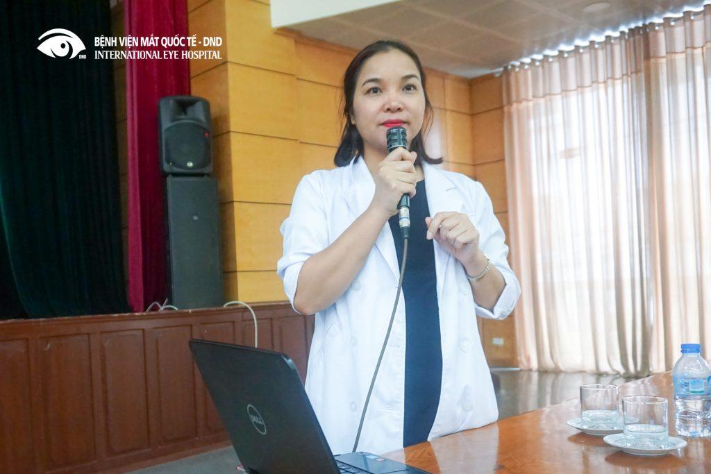 Bác sĩ Phạm Thị Hằng - Trưởng khoa khúc xạ – Lasik, Bệnh viện mắt Quốc Tế DND