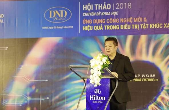 Bác sĩ Nguyễn Đăng Dũng - Giám đốc bệnh viện Mắt Quốc tế DND.-Hoi-thao-chuyen-de-tat-khuc-xa