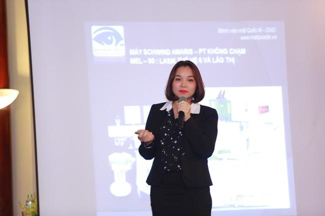Bác sĩ Phạm Thị Hằng - Trưởng khoa khúc xạ – Lasik, Bệnh viện mắt Quốc Tế DND -Shiningdays20184