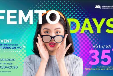Femto Days, phẫu thuật tật khúc xạ