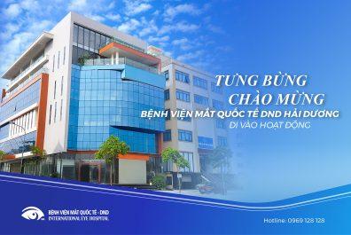 Bệnh viện Mắt DND Hải Dương