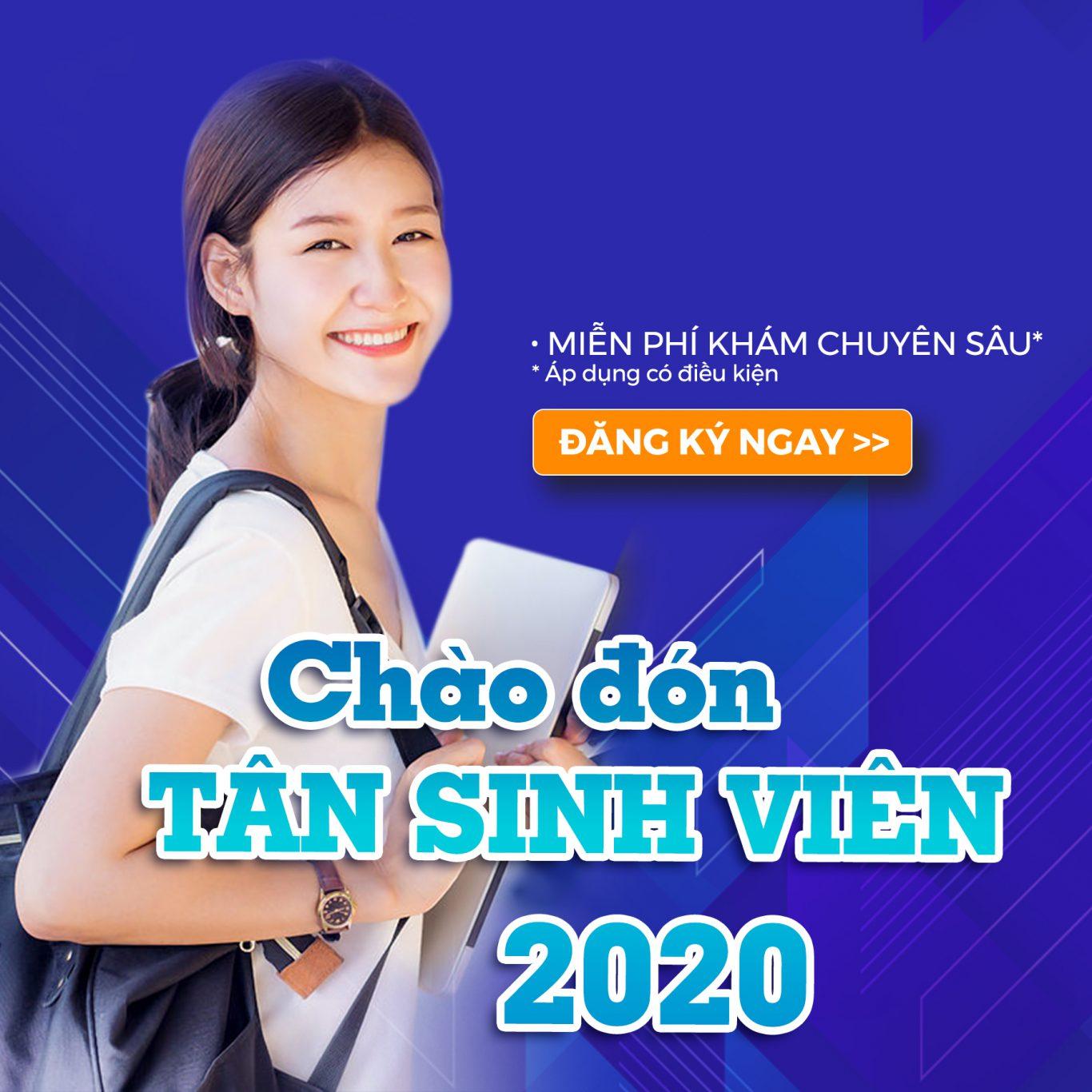 Ưu đãi chào đón Tân Sinh viên 2020